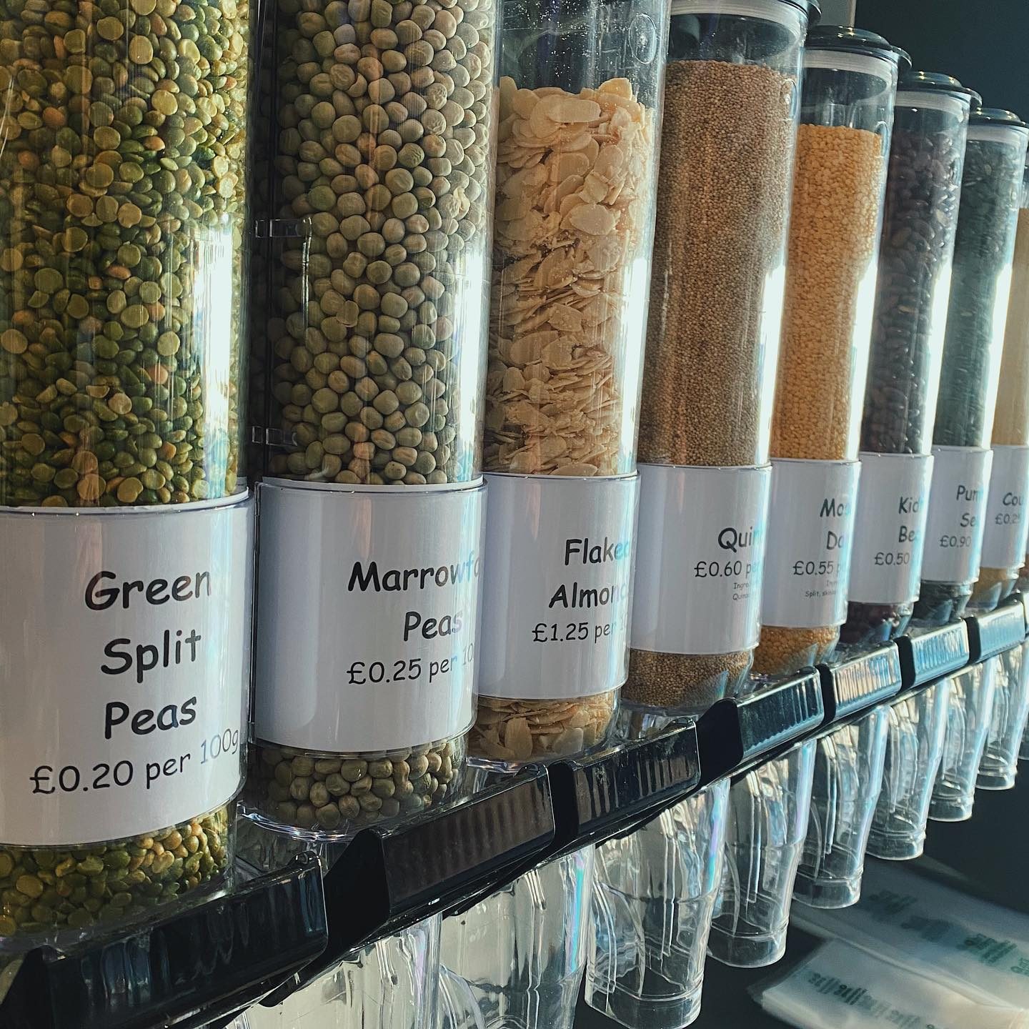 Waste-free 'weigh as you go' store opens in Didsbury, The Manc