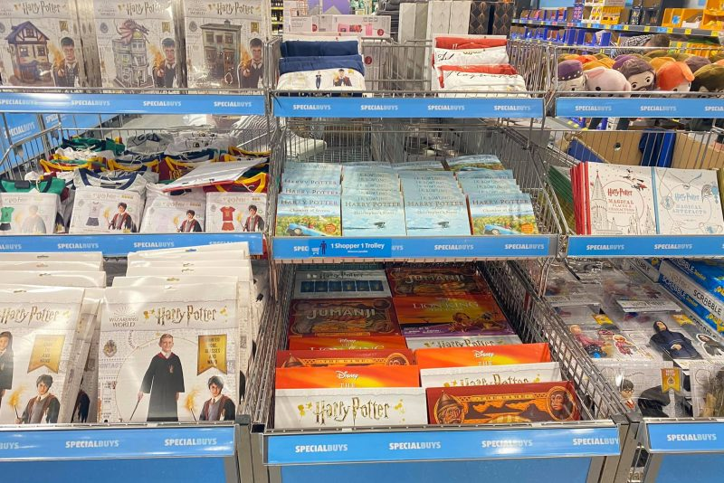 A Harry Potter 'Specialbuy' range has been spotted in Aldi, The Manc