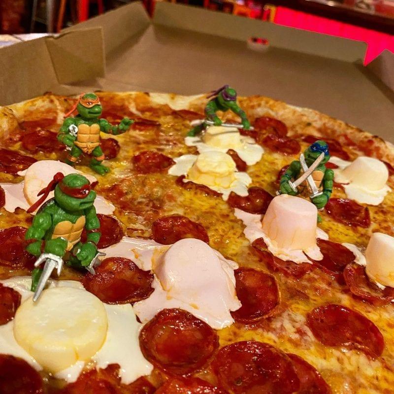 Crazy Pedro's is serving Ninja Turtle pizzas this Sunday, The Manc