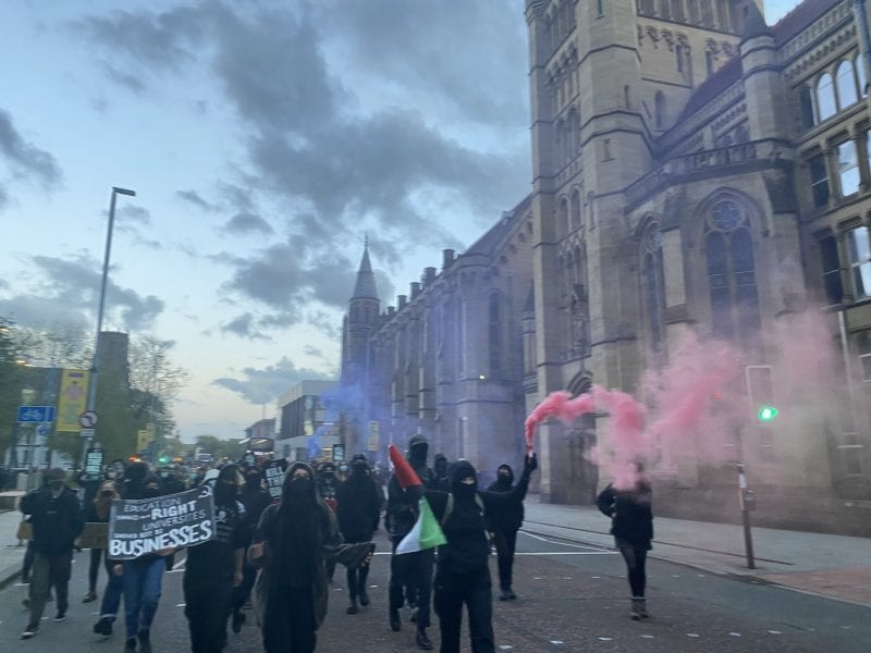 Students pledge 'new radical tactics' after ending occupation, The Manc