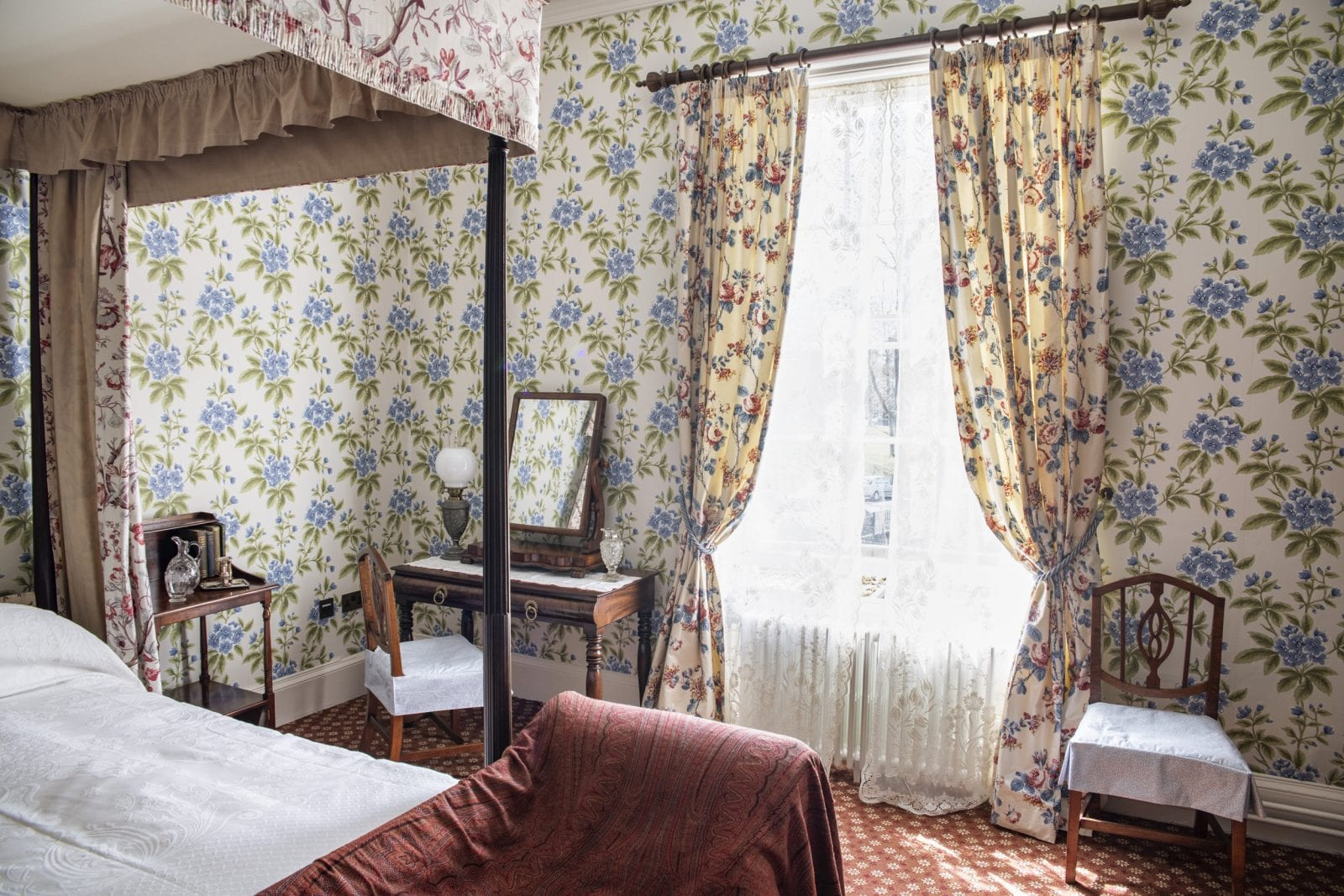 The historic regency villa sat between Longsight's terraces, The Manc
