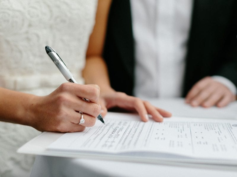The names of both parents to now be included on marriage certificates in England and Wales, The Manc