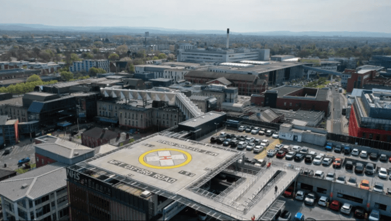 Manchester gets the first hospital helipad of its kind in the North West, The Manc