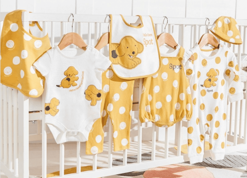 A new 'Spot the Dog' baby range is now on sale at Tesco and people are loving it, The Manc