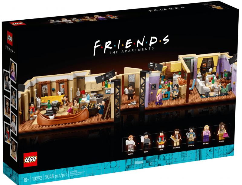 You can recreate the iconic apartments from Friends with this new LEGO set, The Manc