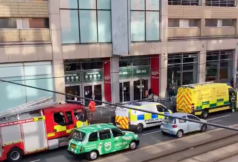 Greater Manchester Police assures there's 'no threat' to the public after second 'suspicious white powder' alert in four days, The Manc