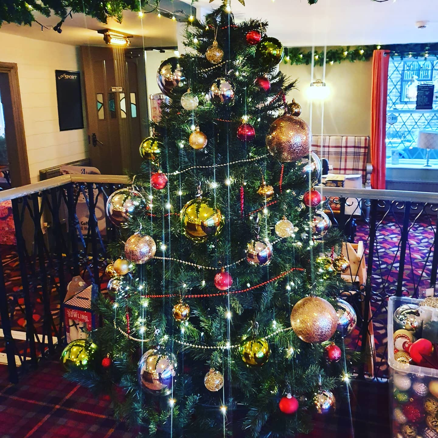 The Manchester pub celebrating Christmas in May for those who missed out last year, The Manc