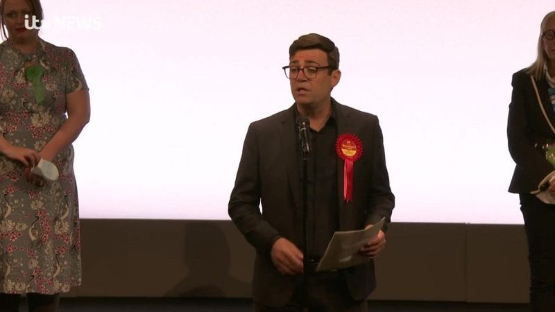 Andy Burnham wins 2021 Greater Manchester mayoral election, The Manc