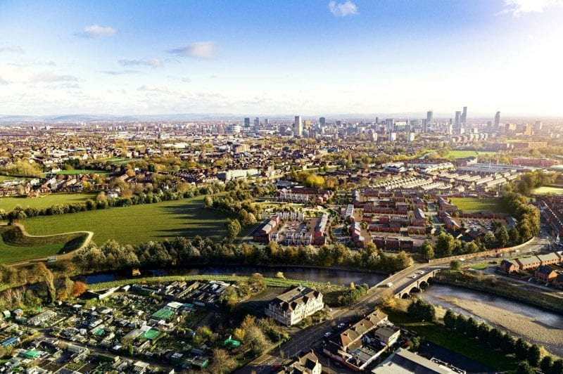 The new housing village coming to the former Manchester Racecourse, The Manc