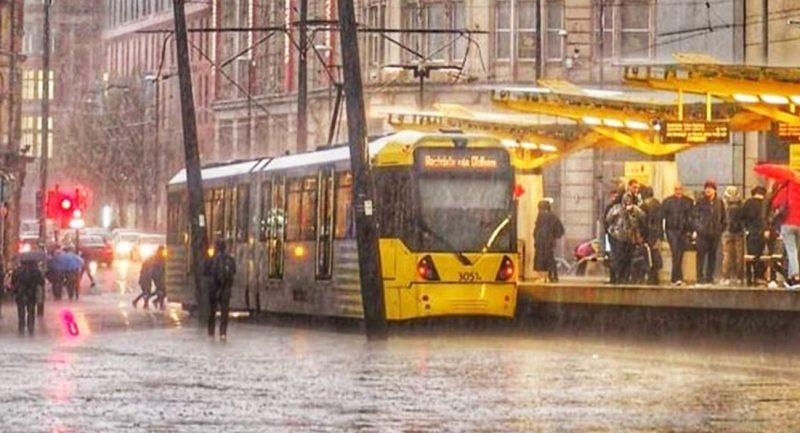 Thunderstorms and heavy showers expected as yellow weather warning issued for Greater Manchester, The Manc