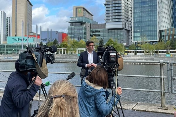 Re-elected mayor Andy Burnham unveils plans for new transport network, The Manc