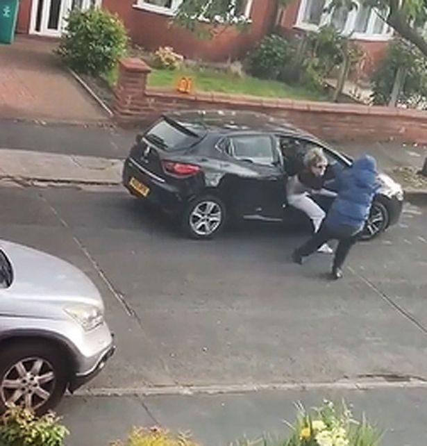 Three men arrested after young mum was dragged from car at knifepoint in Gorton, The Manc