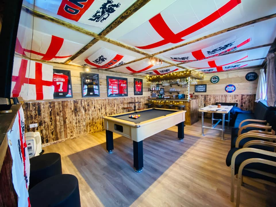 You sent us your Euro 2020 garden setups – here's some of our favourites, The Manc