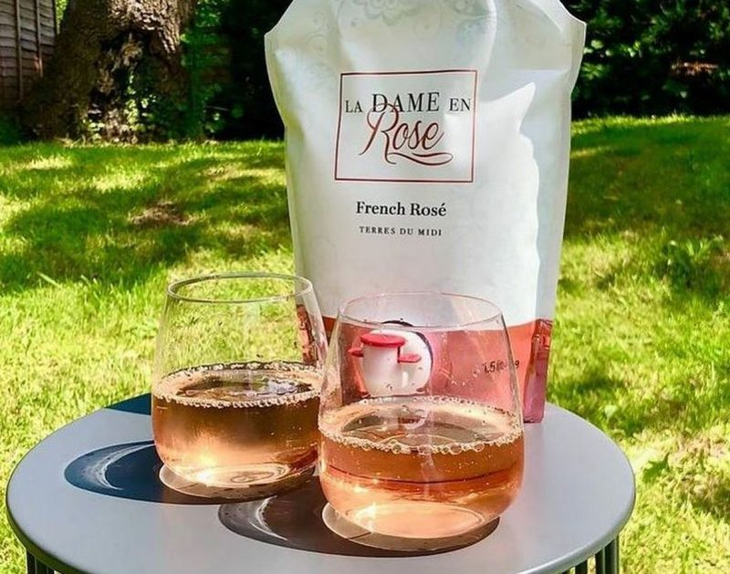 You can now get a giant rosé wine pouch from M&S that's like an 'adult Capri Sun', The Manc
