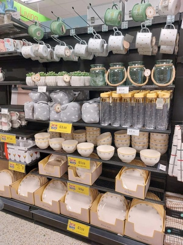 Popular bee-themed homeware range is flying off the shelves at Home Bargains, The Manc