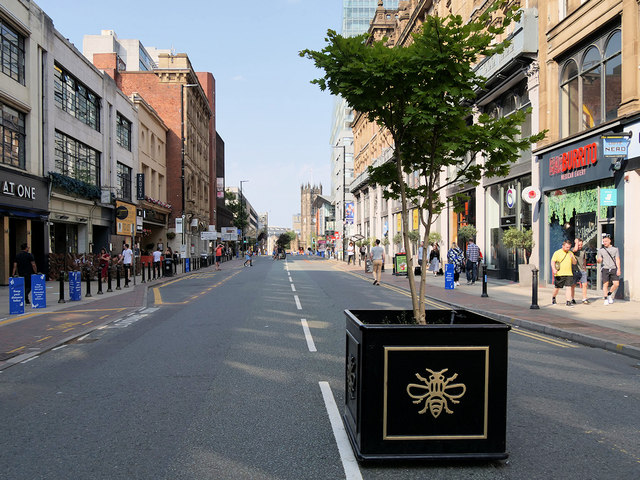 Deansgate could become permanently closed to general traffic, The Manc