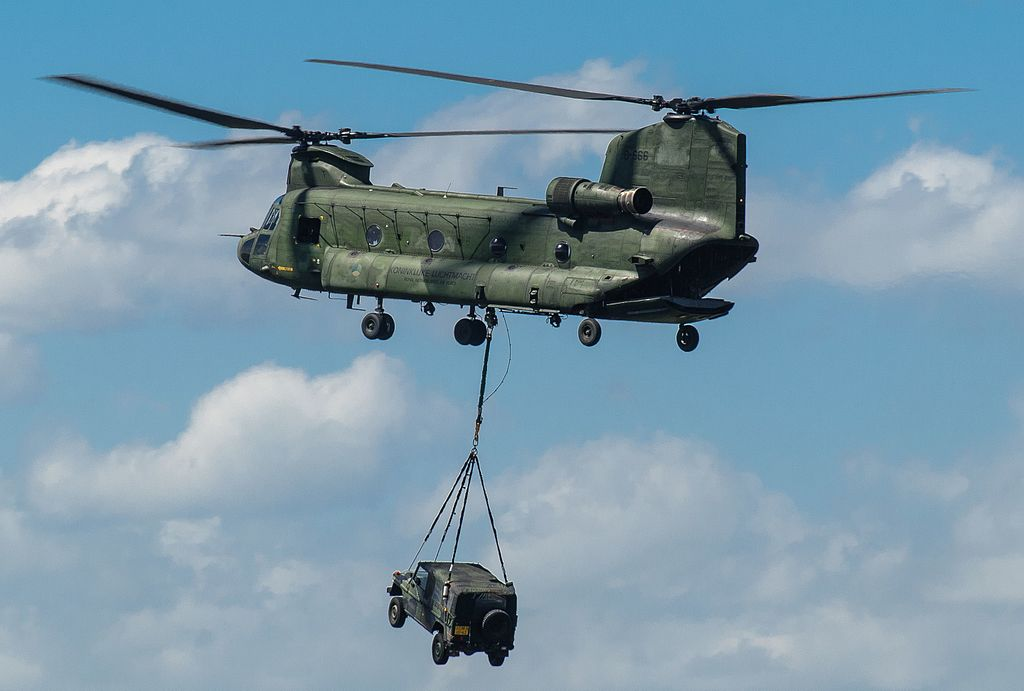 Military helicopters may be seen flying above Manchester this week, The Manc
