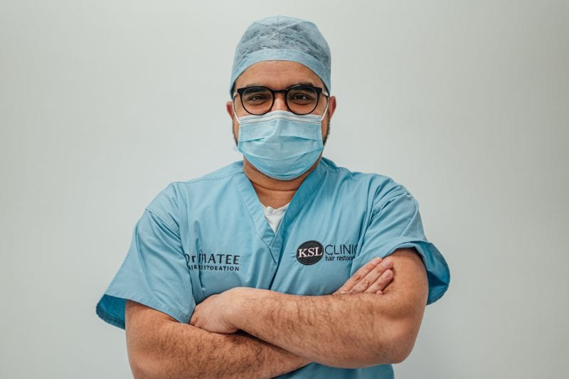 Dr Matee: The famous hair transplant surgeon helping heroes and stars across Manchester and beyond, The Manc