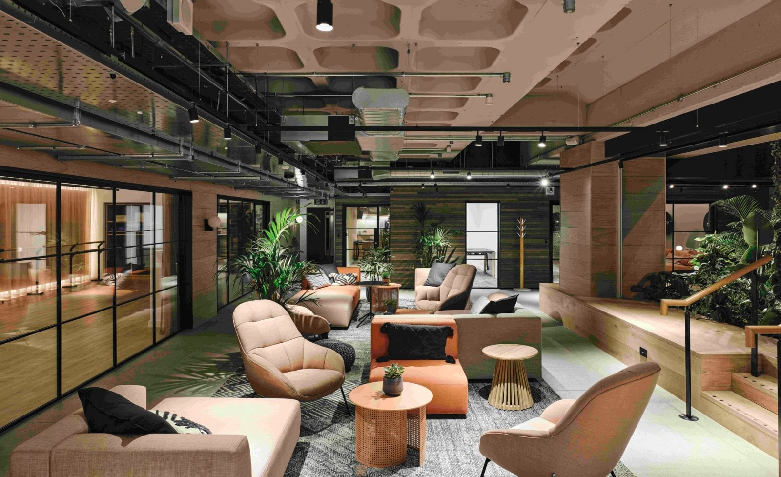 An 'inspiring' new wellbeing-focused workspace has opened in Manchester city centre, The Manc