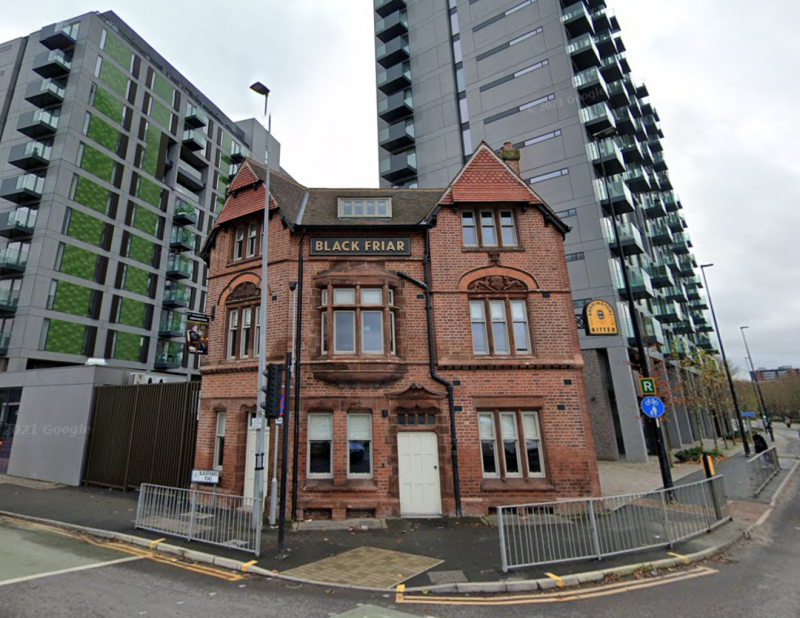 Historic Salford pub Black Friar is reopening its doors after 15 years next month, The Manc