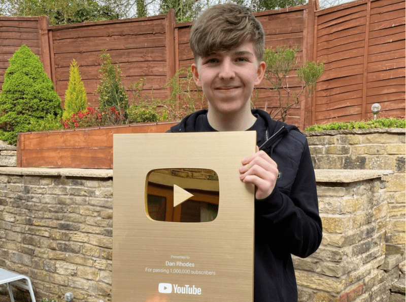 The UK's fastest growing YouTuber is a 17-year-old from Oldham, The Manc