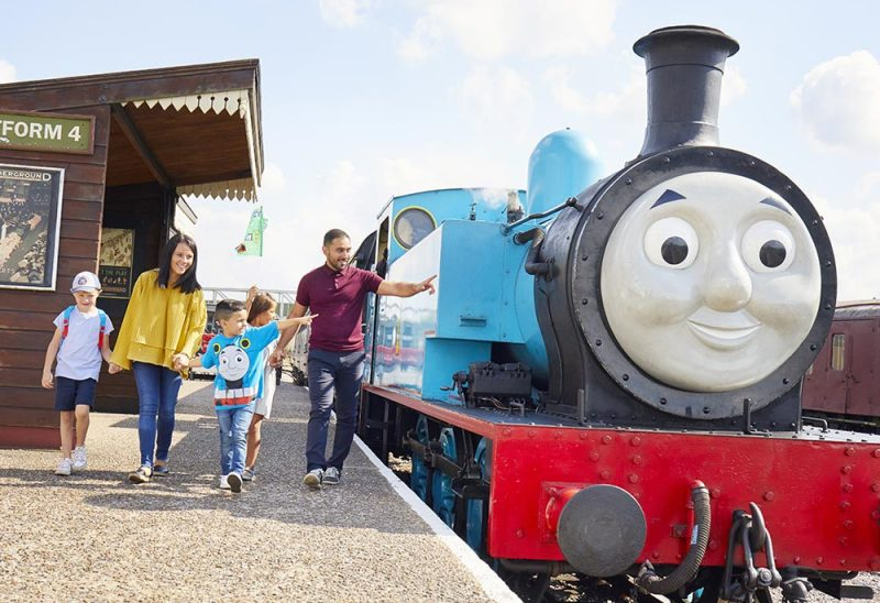 You can take the kids on a ride through Bury in a Thomas the Tank Engine replica train this summer, The Manc
