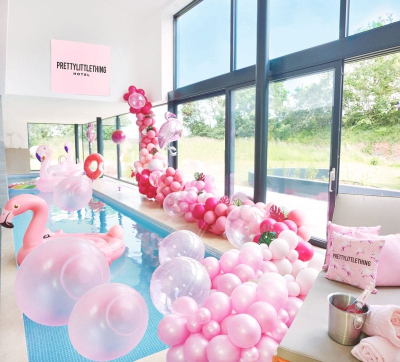 You and two friends can now stay at a PrettyLittleThing HOTEL, The Manc