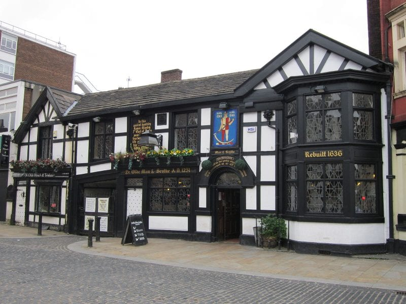 A blood-curdling history of Bolton's oldest pub Ye Olde Man and Scythe, The Manc
