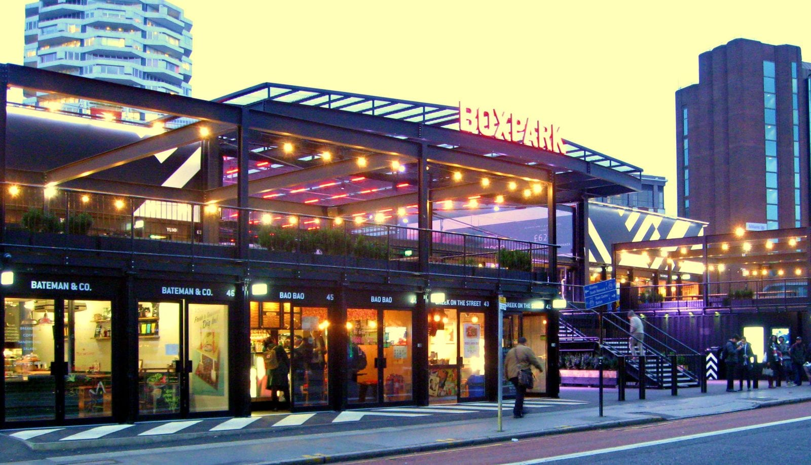 London's famous Boxpark is set for a move to Manchester, The Manc