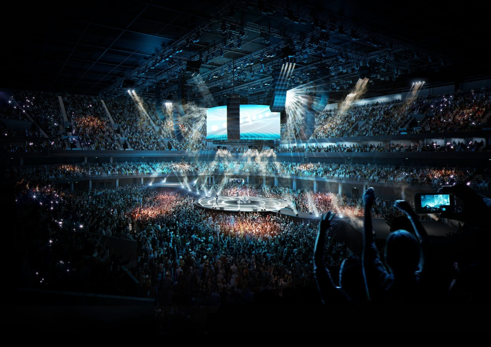 This is what the new Co-Op Live arena in Manchester will look like, The Manc