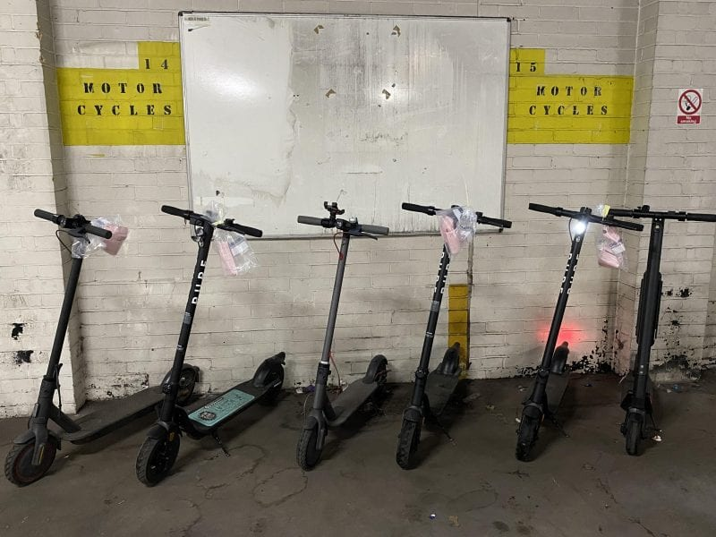 Police seize more e-scooters in Manchester city centre, The Manc