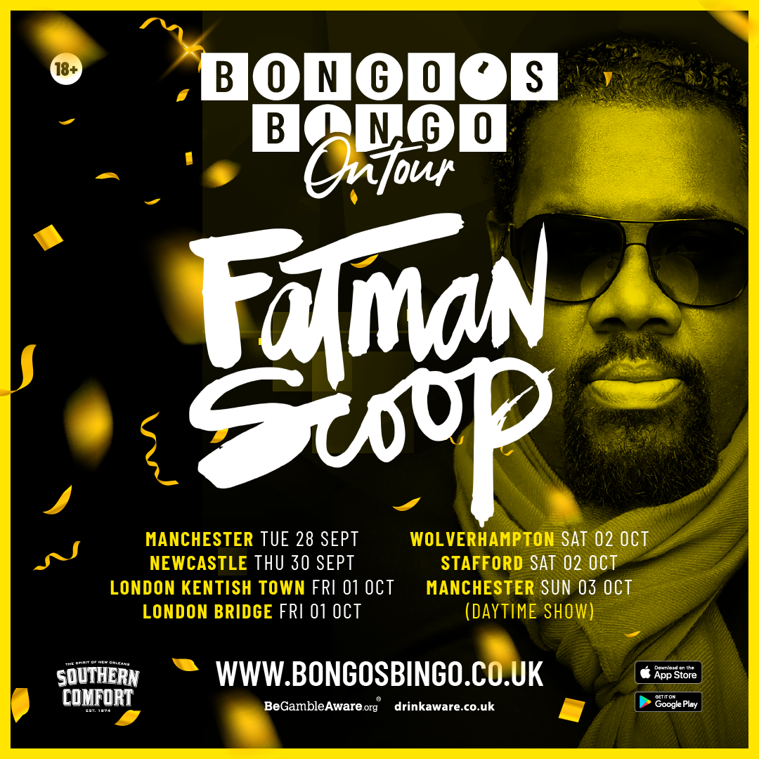Fatman Scoop returns to Bongo's Bingo for two dates in Manchester, The Manc