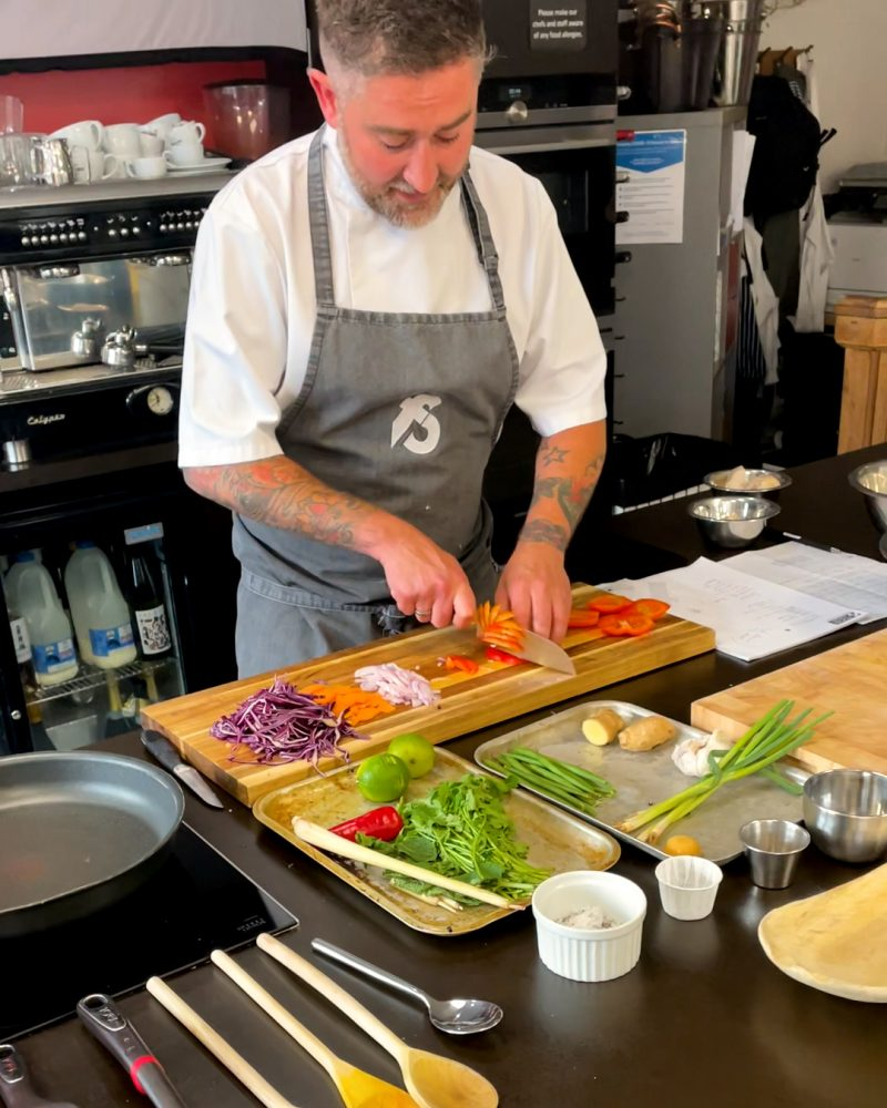 The Manchester cookery school that teaches you to make restaurant-quality food, The Manc