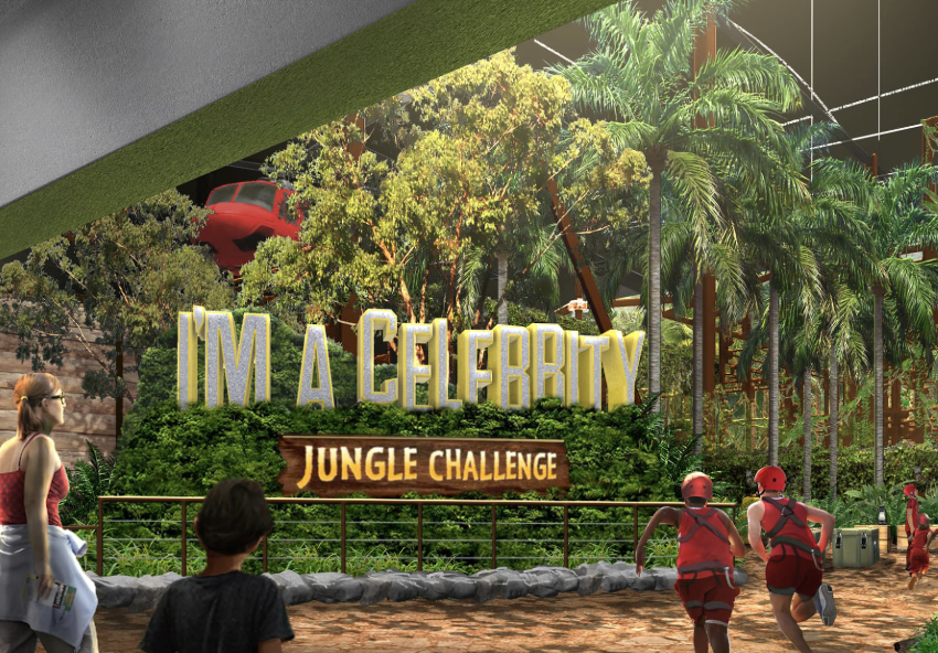 I'm A Celebrity… Jungle Challenge opens at Salford Quays, The Manc