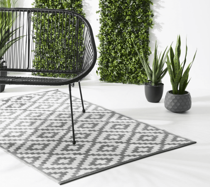 Garden rugs are a thing and Home Bargains is selling them for only £20, The Manc