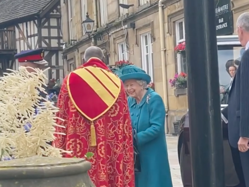 This is why Queen Elizabeth II visited Manchester today, The Manc
