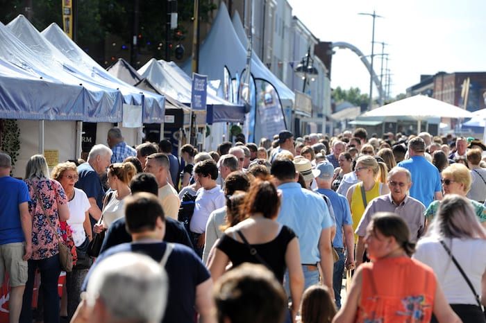 Bolton Food & Drink Festival is making a 'spectacular return' to the town next month, The Manc