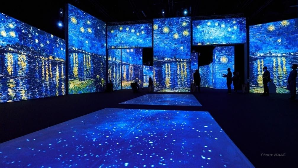 You can still grab tickets for the multi-sensory immersive 'Van Gogh Alive' experience coming to MediaCity, The Manc