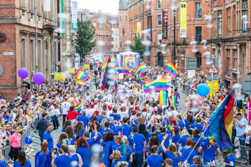 Manchester Pride Parade cancelled for 2021 following 'COVID safety' advice, The Manc