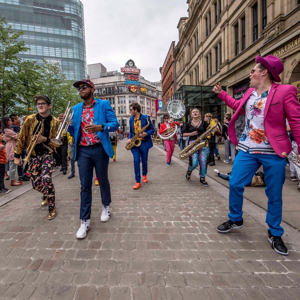 A free 'Thank You Manchester' festival is happening in the city centre this weekend, The Manc