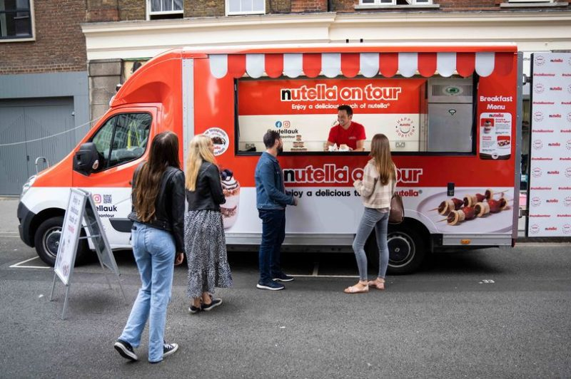 A Nutella van is handing out free breakfasts in Manchester next week, The Manc
