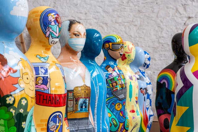 Spectacular art installation dedicated to NHS and key workers comes to Manchester, The Manc