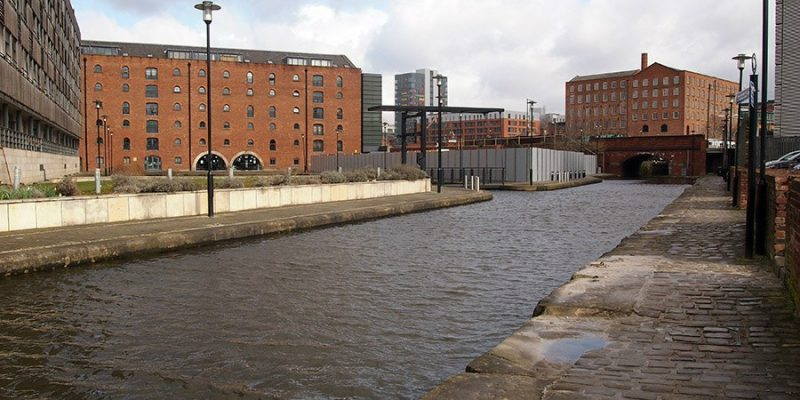 Man dies after being found in the canal in Manchester city centre, The Manc