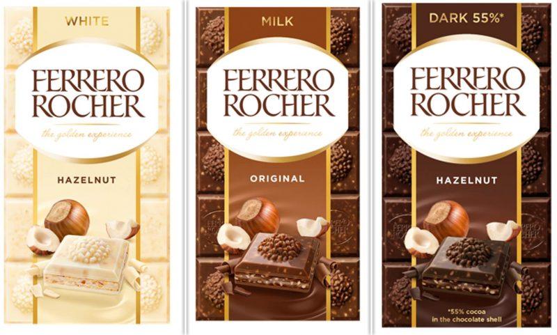 New Ferrero Rocher chocolate bars are launching in the UK next week, The Manc