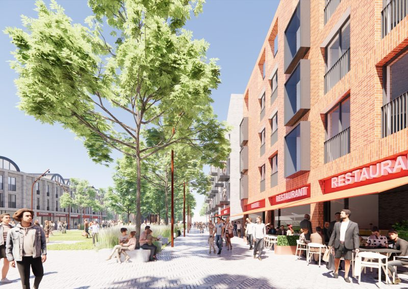 New images give a closer look at the £50 million town centre redevelopment in Farnworth, The Manc