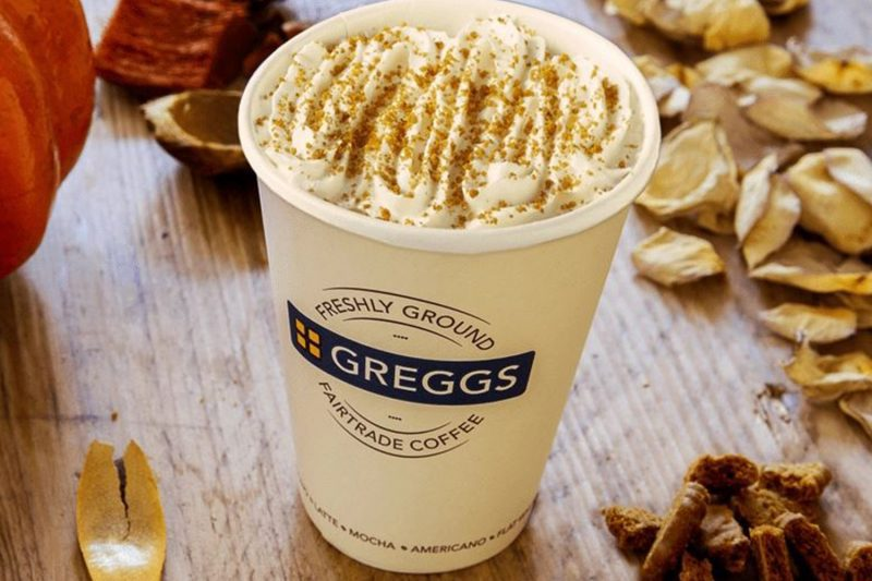 Pumpkin Spice Lattes are back at Greggs, The Manc