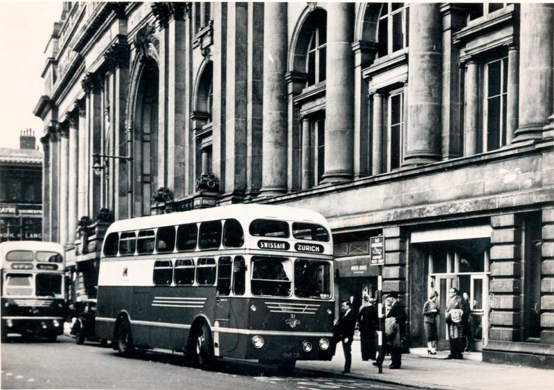 The Royal Exchange used to be a Manchester Airport terminal, The Manc
