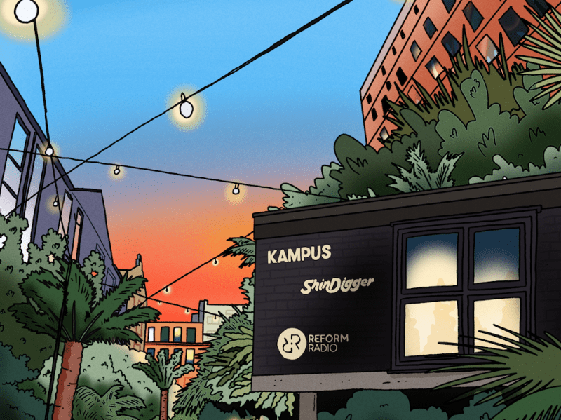 ShinDigger Sessions to host canalside tropical garden party at Kampus, The Manc