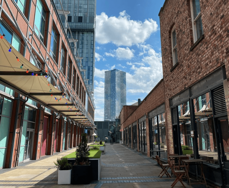 A three-day 'summer street festival' is coming to Deansgate Mews this weekend, The Manc
