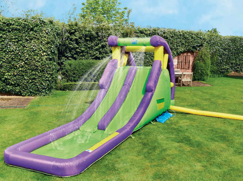 Aldi is selling a massive double water slide ready for the heatwave this month, The Manc